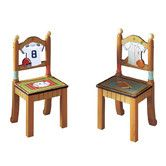 Found it at Wayfair - Lil' Sports Fan Kids' 2 Piece Chair Set