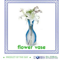 Dobbs Global Product of the Day: Portable Flower Vases. A great idea for weddings! Portable flower vases are easy to use, store and won't break if it falls off a table. #promotionalproducts #print #apparel #jax #jacksonville #staugustine #staug #duval #stjohns #fl