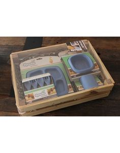 Spuds Sprout Gift Set - Blue