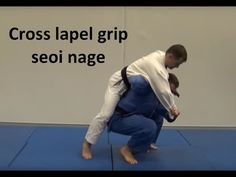 Cross lapel Seoi nage by Liam Tredgold - YouTube