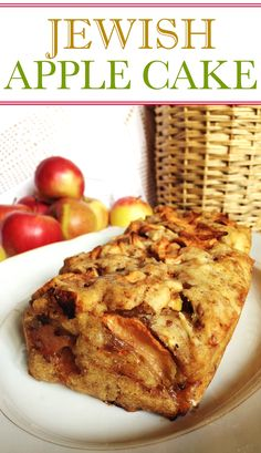 This Jewish apple loaf cake is an easy and healthy loaf cake that's perfect to make on a lazy Sunday.