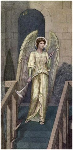 "Angel  ""to her let us garlands bring ( W.S) Sidney Harold Meteyard The golden legend """