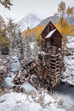 ❥ Crystal Mill Portrait x by Kevin Quinley on 500px~ This is near Durango in La Plata Canyon, I believe...