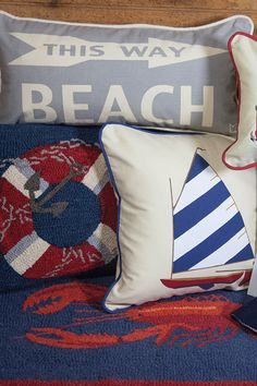 A wonderland of coastal home accents await you here!