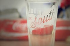Made in the South Pint Glass by KGlassDesign on Etsy, $10.00