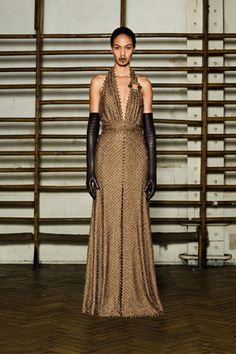 Spring 2012 Couture, Designer: Givenchy, Model: Joan Smalls