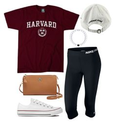 """""""God,help me"""" by ava-navarrrroo ❤ liked on Polyvore featuring NIKE, Converse, Tory Burch and Vineyard Vines"""