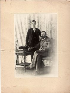While William and Sarah were in Liverpool, his brother (my great-grandfather) was moving back and forth across the Rio Plata on business. This photograph was sent from Buenos Aires to my father in the English Midlands with a note attached, saying he was 14 at the time (1898), and his father, Samuel Turner Loader, Consul for Uruguay and Vice-Consul for Argentina.