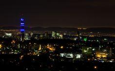 More of Pretoria at night
