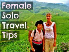 Female Solo Travel Tips #ytravel #yourfutureyourworld