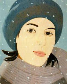 Alex Katz - December