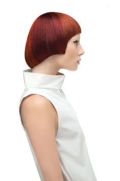 The Orbit Collection by Scruples Red Orange Hair, Vibrant Hair Colors, Color Block Hair, Avant Garde Hair, Hair Creations, French Fashion Designers, Creative Hairstyles, Hair Photo, Hair Designs
