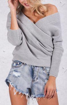 Janessa Criss-Cross Sweater