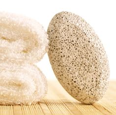 Pumice Stone for curing Keratosis Pilaris and/or having super smooth arms/legs/skin!