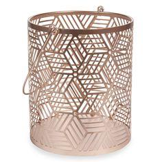 ORIGAMIX metal lantern H 19 cm