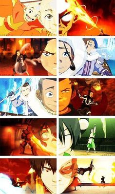 Now that is character development. Zuko is the one who changes from angry to.... Less angry :)