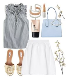 """""""Casual"""" by grinevagh ❤ liked on Polyvore featuring J.Crew, Maya Magal, malo, Pier 1 Imports, Charlotte Russe, Roksanda and Mariah Carey"""
