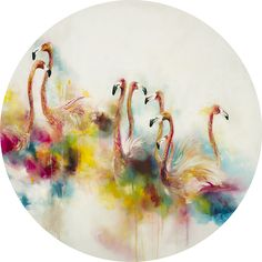 Katy Jade Dobson is a UK based oil painter from Yorkshire. Katy Jade Dobson uses a number of mediums to paint her amazing pieces. Round Canvas, Small Canvas, Heaven Art, Oil Painters, Wildlife Art, Indian Art, Watercolor Art, Fantasy Art, Abstract Art