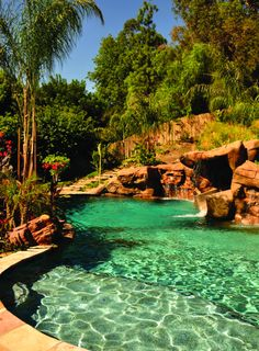 Outdoor spaces, pools, patios