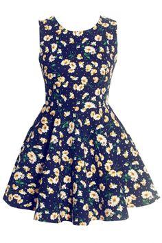 Fancy Floral Print Sleeveless Tunic