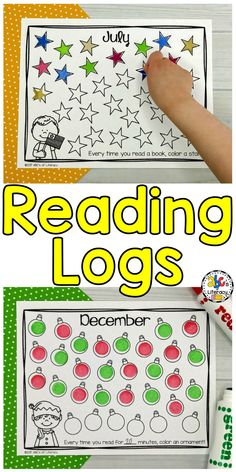 Motivation to read pin 2 These monthly reading logs will keep students motivated to read and keep track of how many books they have read so far that month. Reading Resources, Reading Activities, Literacy Activities, Reading Lessons, Reading Strategies, Kindergarten Reading, Teaching Reading, Preschool Kindergarten, Guided Reading
