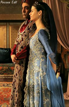 Muhtesem Yuzyil Dress, Kosem Sultan