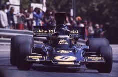 Jacky Ickx, Montjuich 1975, Lotus 72E