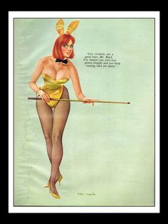 """Don Lewis Pinup Girl WATER DAMAGED Playboy Vintage September 1966 """"Billiards"""" Sexy Nude Mature Wall Art Deco Print by ThePinUpPages on Etsy https://www.etsy.com/listing/235330575/don-lewis-pinup-girl-water-damaged"""