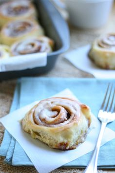 The Cinnabon Cinnamon Roll!! This is the closest thing to the cinnabon that will ever come out of your kitchen!