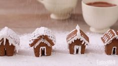 These Mini Gingerbread Houses Are Almost Too Cute for Their Own Good | EatingWell