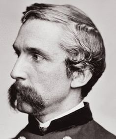 Lawrence Joshua Chamberlain. An American college professor from the State of Maine, who volunteered during the American Civil War to join the Union Army. Although having no earlier education in military strategies, he became a highly respected and decorated Union officer, reaching the rank of brigadier general (and brevet major general).  He entered politics as a Republican and served four one-year terms of office as 32nd Governor of Maine. Cousin through birthfather's maternal lineage.