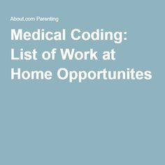 Entry level medical billing and coding jobs work from home