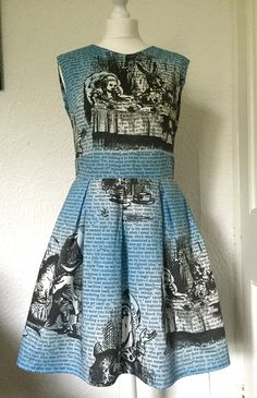 Mad Hatters Tea Party Dress