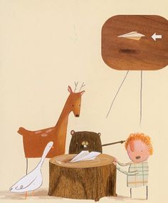 absolutely love Oliver Jeffers