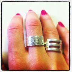Tiffany silver ring