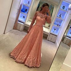 2017 New Arrival Sexy Long Prom Dresses Pink Evening Party Dress,Coral Pink Prom Gowns,Evening Gowns Long Sleeve Evening Dresses, Prom Dresses Long With Sleeves, Pink Prom Dresses, A Line Prom Dresses, Tulle Prom Dress, Prom Party Dresses, Modest Dresses, Trendy Dresses, Evening Gowns