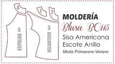 Trazado de molde de costura Blusa Escote Drapeado - YouTube