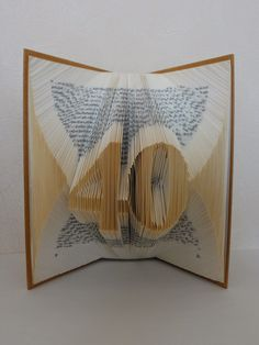 The Folded Book Page - Folded Book Art - Custom Order