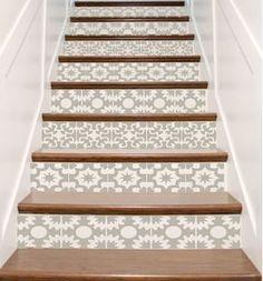 Calcomanías de vinilo escalera azulejo Hacienda por crowbabys