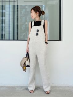 Daily Fashion, Overalls, Dressing, Daily Style, How To Wear, Japanese Style, Pants, Outfits, House