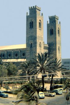 Mogadishu Cathedral was a Roman Catholic cathedral located in Mogadishu, Somalia, and seat of the Roman Catholic Diocese of Mogadiscio. It was built in 1928 in accordance with the Italian plan for the development of Mogadishu as capital of Italian Somaliland. It was built in a Norman Gothic style, and based on Cefalù Cathedral.
