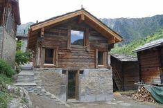 Architektur Kummer AG Architects, Cabin, House Styles, Home Decor, Cabins, Cottage, Interior Design, Home Interior Design, Wooden Houses
