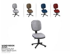 wondymoon's Rhodium Desk Chair