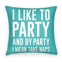 Does this pillow from LookHUMAN speak to you? I know it speaks to me...