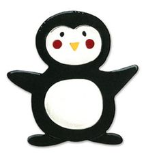 Brand New - SIZZIX  Bigz Die - PENGUIN - ANIMAL DRESS UP - Christmas - HOLIDAYS #Cuttlebug