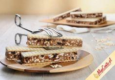 Ryżowy przekładaniec #ciasta #ciasto #desery #wypieki #cakes #cake #pastries Wok, Cake Cookies, Tiramisu, Tray, Baking, Ethnic Recipes, Cakes, Cake Makers, Bakken