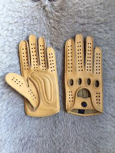 Men s Driving Gloves Palm Padded cycling motorcycling car driving. Guanti Di  ... 8c62a43595be