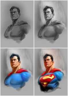 Justice League Heroes by Albert Co, via Behance