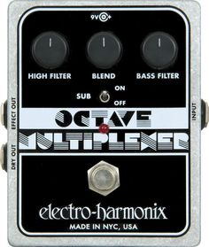 Electro-Harmonix XO Octave Multiplexer Guitar Effects Pedal. Would love one of these for my arsenal of pedals!