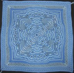 Rings of Change square crochet pattern by Frank O'Randle